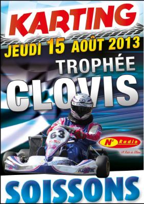 Affiche trophee clovis 2014
