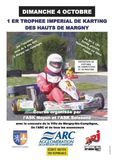 Affiche trophee imperial 2009