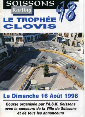 Trophee clovis 1998