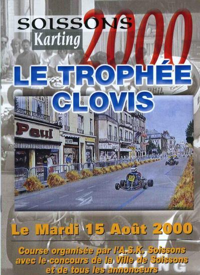 Trophee clovis 2000